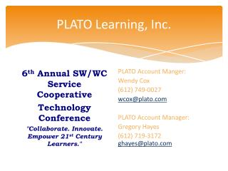 PLATO Learning, Inc.