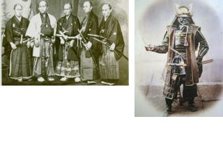 Japan modernized during the  Meiji Restoration