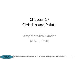 Chapter 17 Cleft Lip and Palate