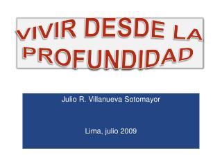 VIVIR DESDE LA PROFUNDIDAD