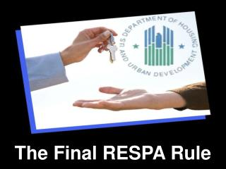 The Final RESPA Rule
