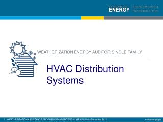 HVAC Distribution Systems