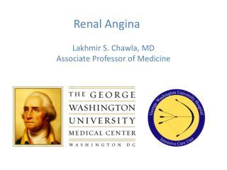 Renal Angina