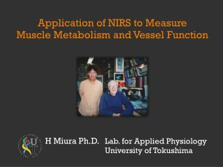Lab. for Applied Physiology University of Tokushima