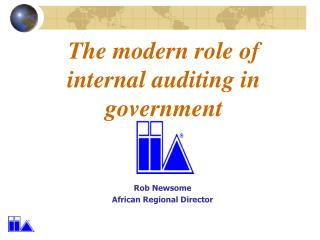 The modern role of internal auditing in government