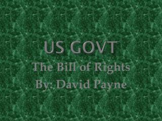 US GOVT