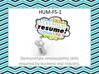 HUM-FS-1