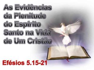 As Evidências da Plenitude do Espírito Santo na Vida de Um Cristão
