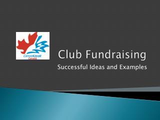 Club Fundraising