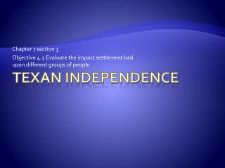Texan Independence