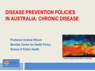 disease  prevention  policies in Australia: Chronic Disease