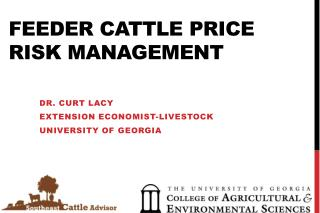 Feeder Cattle Price  Risk  Management