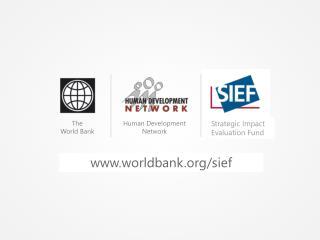 Strategic Impact Evaluation Fund