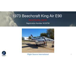 1973 BeechcraftKing Air E90