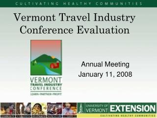 Vermont Travel Industry Conference Evaluation
