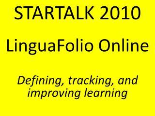 STARTALK 2010