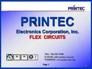 TEL:  781-547-5700 E-MAIL:  info@printec-usa.com WEBSITE :  www.printec-usa.com