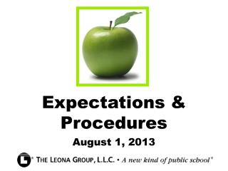 Expectations & Procedures
