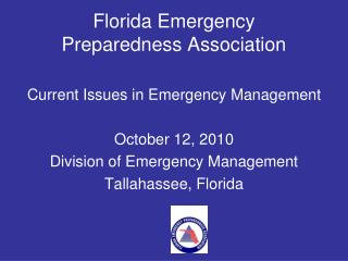 Florida Emergency  Preparedness Association