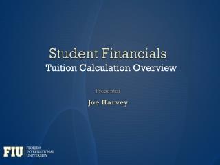 Student Financials
