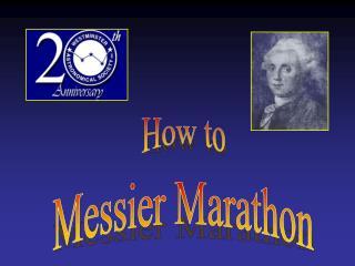 Messier Marathon