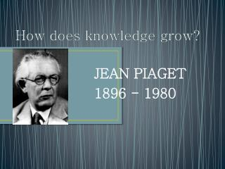 How does knowledge grow ?