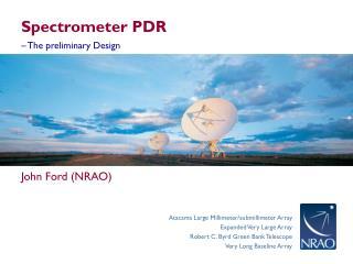 Spectrometer PDR