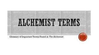 Alchemist Terms