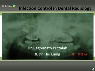 Infection Control in Dental Radiology