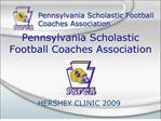 Pennsylvania Scholastic Football Coaches Association