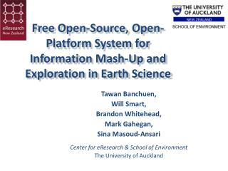 Free Open-Source, Open-Platform System for Information Mash-Up and Exploration in Earth Science