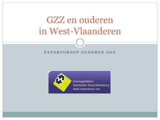 GZZ  en ouderen  in West-Vlaanderen