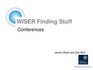 WISER Finding Stuff