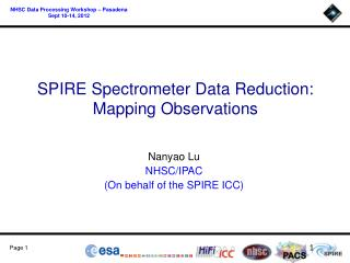 SPIRE Spectrometer Data Reduction : Mapping Observations