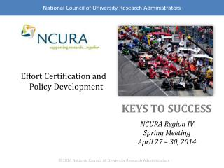 Effort Certification and Policy Development