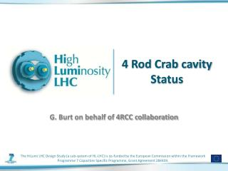 4 Rod Crab cavity Status