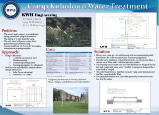 Camp Koholowo Water Treatment