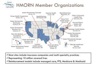 HMORN Member Organizations