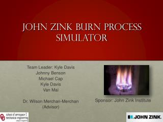 John Zink Burn Process Simulator