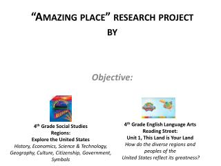 """Amazing place"" research  project by"