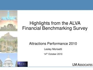 Highlights from the ALVA Financial Benchmarking Survey
