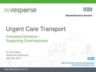 Urgent Care Transport
