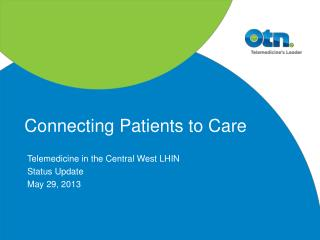 Connecting Patients to Care