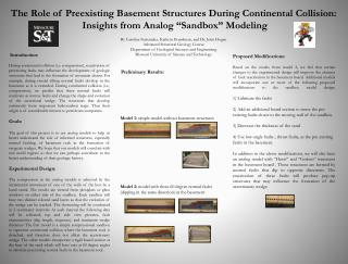 By Caroline Fernandez, Kathryn Boardman,  and  Dr. John Hogan Advanced Structural Geology Course