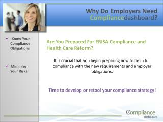 Know Your          Compliance       Obligations