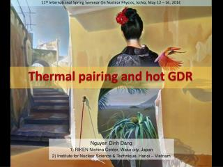 11 th  International Spring Seminar On Nuclear Physics, Ischia, May 12 – 16, 2014