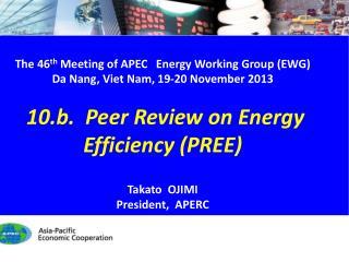 The  46 th Meeting of  APEC Energy Working Group (EWG) Da Nang, Viet Nam, 19 -20 November  2013