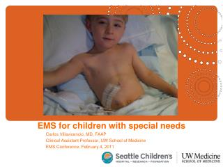 EMS for children with special needs