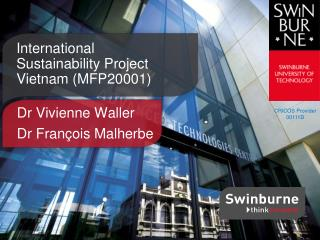 International Sustainability Project Vietnam (MFP20001)