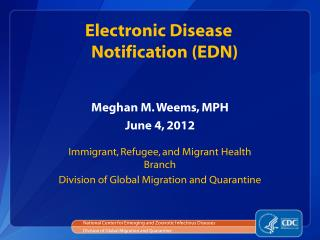Meghan M. Weems, MPH  June 4, 2012
